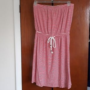 Gap strapless dress size M